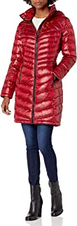 Women's Walker Packable Jacket With Hood and Stand Collar