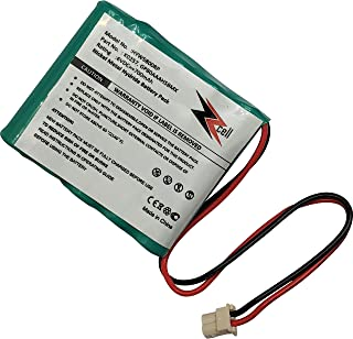 ZZcell Replacement Battery for Honeywell K0257, GP80AAAH5BMX, 55111-05, 5800RP Wireless Repeater Alarm System Capacity 700mAh