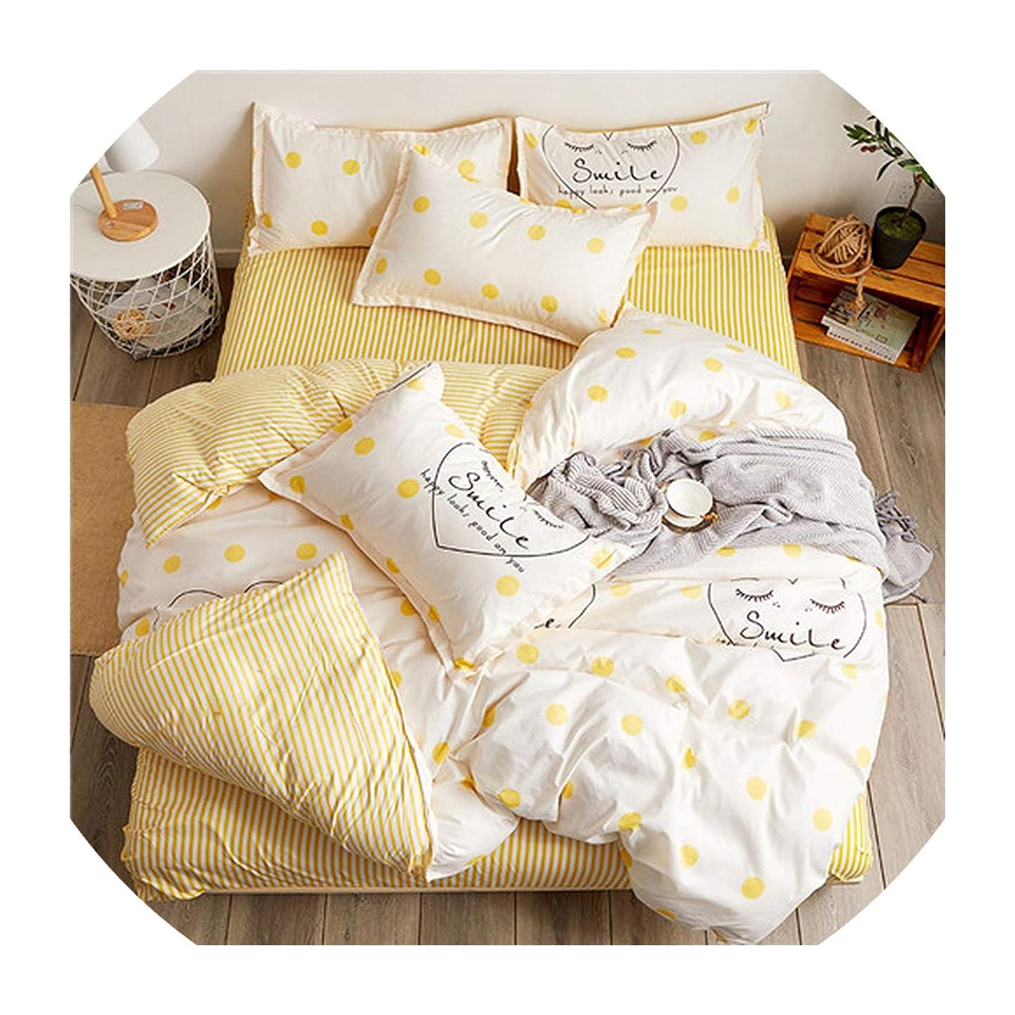 Jifnhtrs Home Bedding 4pcs Flat Sheet Set red Heart Bed Linen Set Sheet Pillowcase&Duvet Cover Set Cute Bird Child Bedclothes Leaf Cover,Love Summer,Twin,Flat Bed Sheet