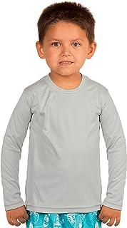 Vapor Apparel Toddler UPF 50+ UV Sun Protection Outdoor Performance Long Sleeve T-Shirt