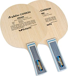 Butterfly Viscaria Table Tennis Blade - Butterfly ALC Blade - Professional Butterfly Table Tennis Blade - Available in FL, and ST handle styles - Made in Japan