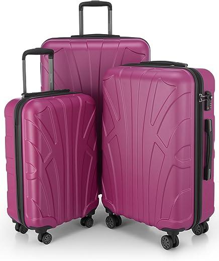 Suitline 3-delige kofferset Trolley-set trolleykoffer Harde koffer...