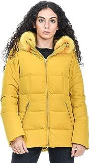 Geospirit Luxury Fashion Womens GED083601181534547 Yellow Down Jacket   Fall Winter 19