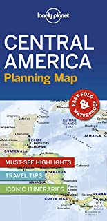 Lonely Planet Central America Planning Map [Idioma Inglés]