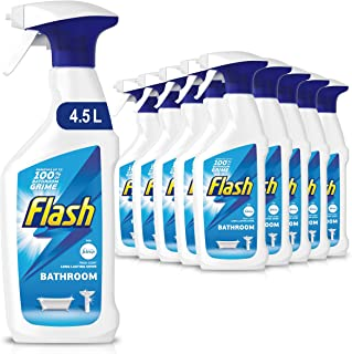 Flash Badrumrengöring Spray, 10 x 450 ml