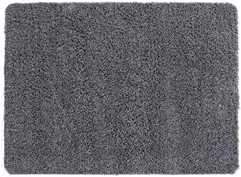Andiamo Schmutzfangmatte Sauberlaufmatte Fumatte - Indoor Outdoor Matte - waschbar, in 4 Farben erhltlich, Gre 120 x 180 cm, Farbe Grau