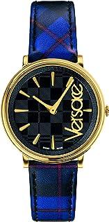 ساعة فيرزاتشي للسيدات بسوار من الجلد كاجوال - VE8100218
