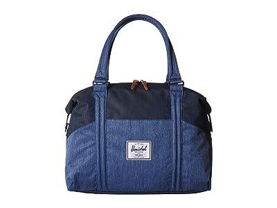Herschel Supply Co. Strand (Faded Denim/Indigo Denim) Duffel Bags