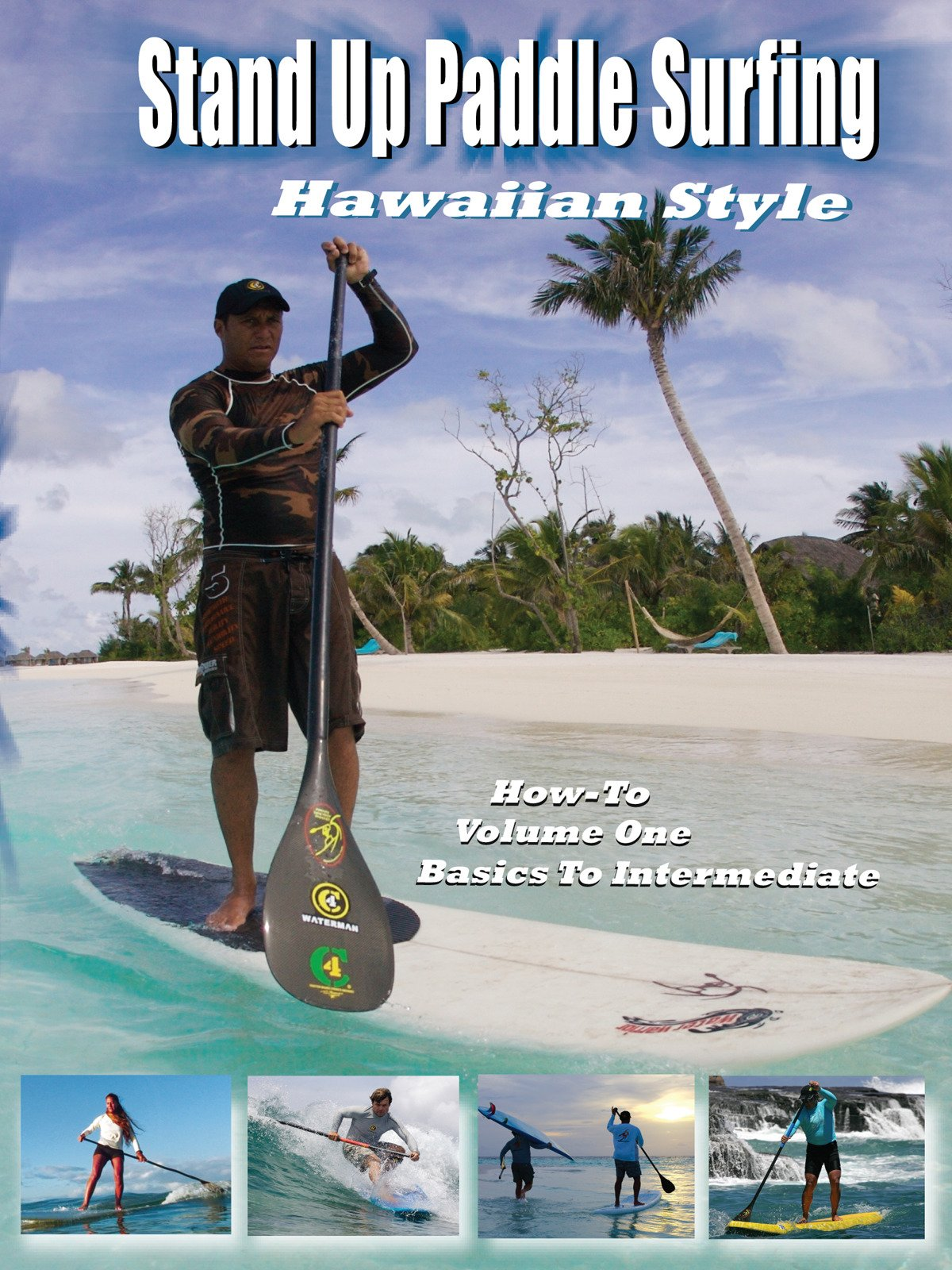 Stand Up Paddle Surfing Hawaiian