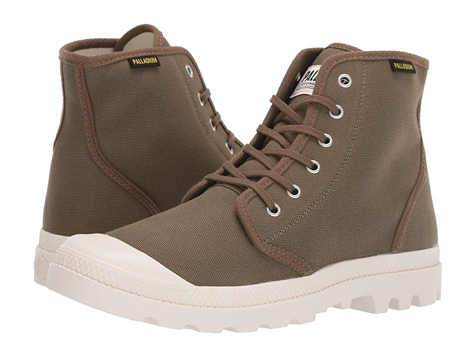 Palladium Pampa Hi Originale (Military Olive) Lace-up Boots