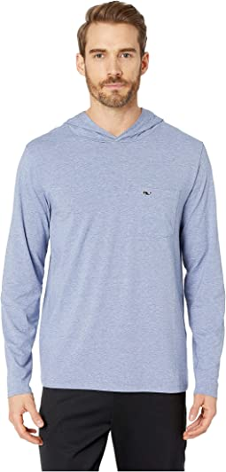 Long Sleeve Performance Edgartown Hoodie T-Shirt