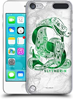 Official Harry Potter Slytherin Aguamenti Deathly Hallows IX Hard Back Case Compatible for iPod Touch 5G 5th Gen