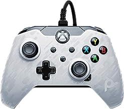 PDP bekabelde controller voor Xbox series X Camo-Wit
