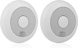 Smartwares RM175RF/2 gekoppelde rookmelder/brandmelder getest volgens Zonder afstandsbediening 2 Stuk