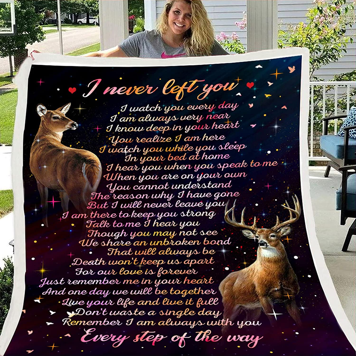 Oaimmk Flannel Throw Blanket to Letter Finally resale start Daughter Print My Challenge the lowest price Message