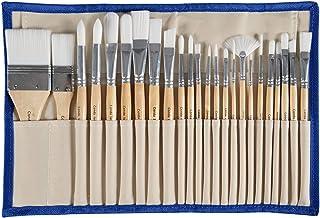 comprar comparacion Conda Conjunto 24 Pinceles Profesionales con Funda de Lona Resistente, Pintura Acrílica, Pintura a Base De Óleo o Acuarelas