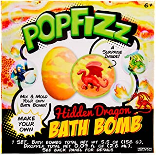 Pop Fizz Dragon Surprise Bath Bomb