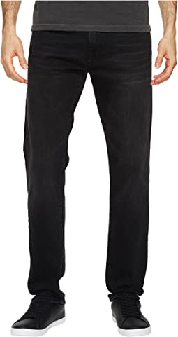 Marcus Regular Rise Slim Straight Leg in Dark Smoke Williamsburg