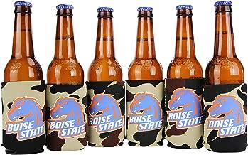 Kolder NCAA Collegiate 6 Pack Bundle Neoprene Bottle Coozies