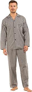 Haigman Mens 100% Cotton Long Pyjama Lounge Wear