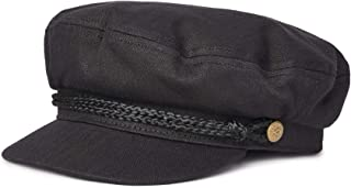 Brixton Tonal Herringbone Cotton Fiddler Cap (Small - 7)