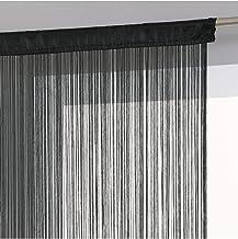 Polyester Yinew Spaghetti Rideau panneau dense Polyester /à franges avec rideaux de porte beige As description