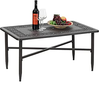 Best rectangular outdoor coffee table Reviews