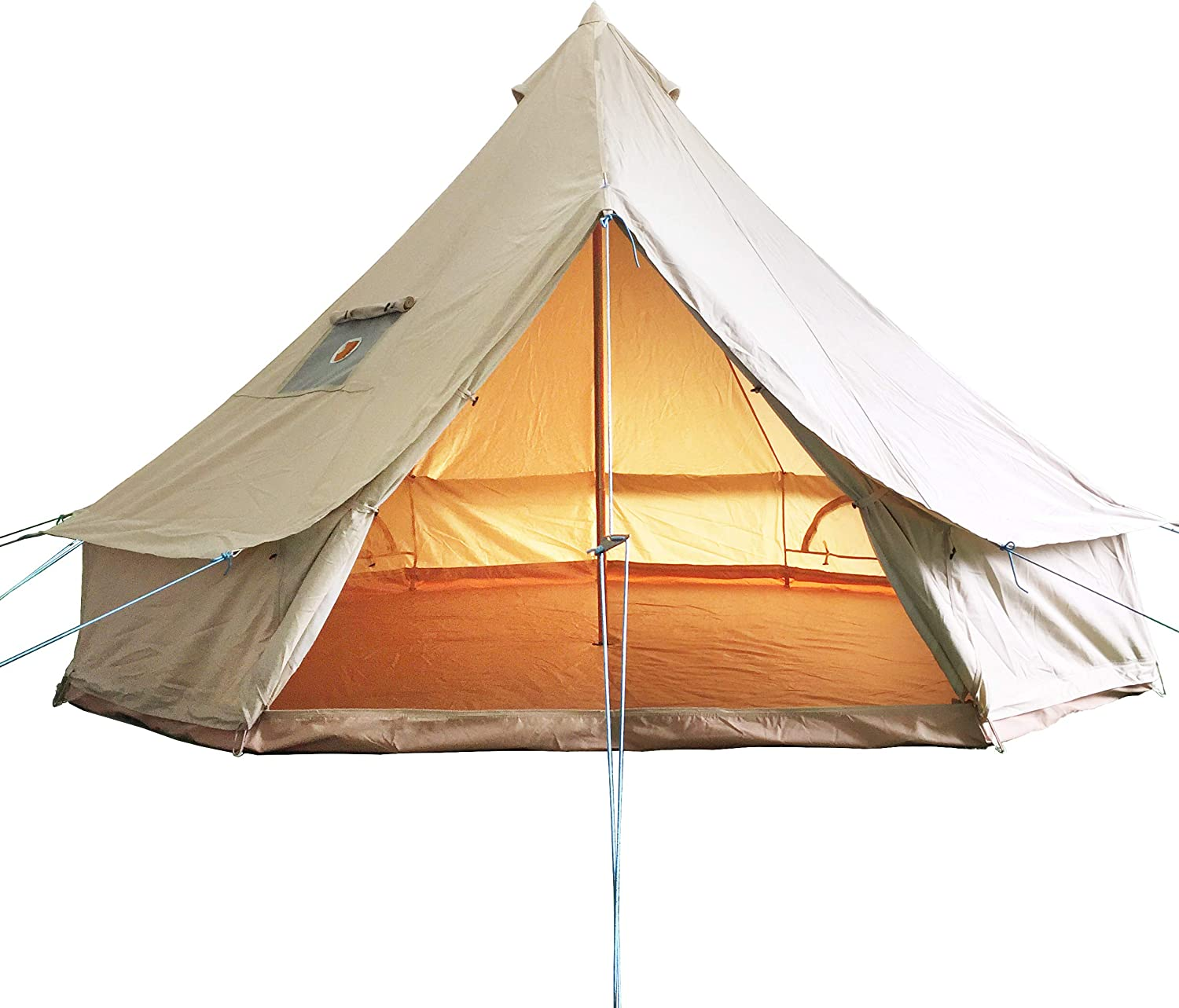 Luxury Outdoor Bell Free Sale item Shipping New Tent 4 Season T Large Canvas Glamping Cotton