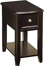 Ashley Furniture Signature Design - Breegin Chair Side End Table - Contemporary Style - Rectangular - Dark Finish