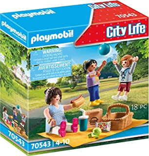 PLAYMOBIL City Life 70543 Picnic in the Park, from 4 Years