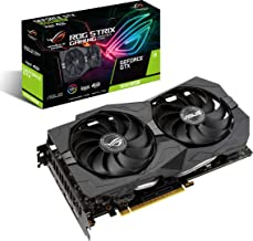 ASUS ROG Strix GeForce GTX 1650 Super Advanced 4GB Edition GDDR6 HDMI 2.0 DP 1.4 Gaming Graphics Card (ROG-STRIX-GTX1650S-...