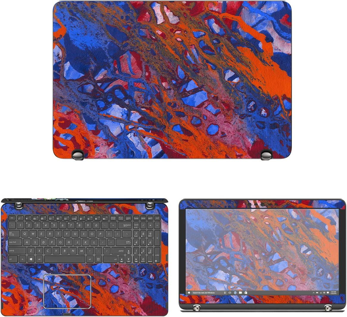 Decalrus Some reservation - Discount is also underway Protective Decal Skin Asus for Q524U Q534UX Sticker
