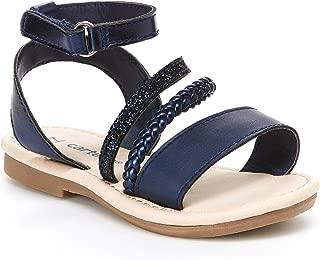 navy blue sandals for toddler girl