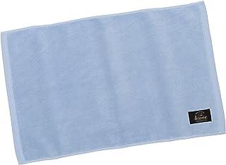 hiorie(ヒオリエ) 日本製 バスマット 制菌防臭加工 ホテルスタイル ホテルブルー 瞬間吸水 今治製 洗える 足ふき
