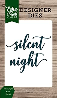 Echo Park Paper Company Silent Night Word Die Set