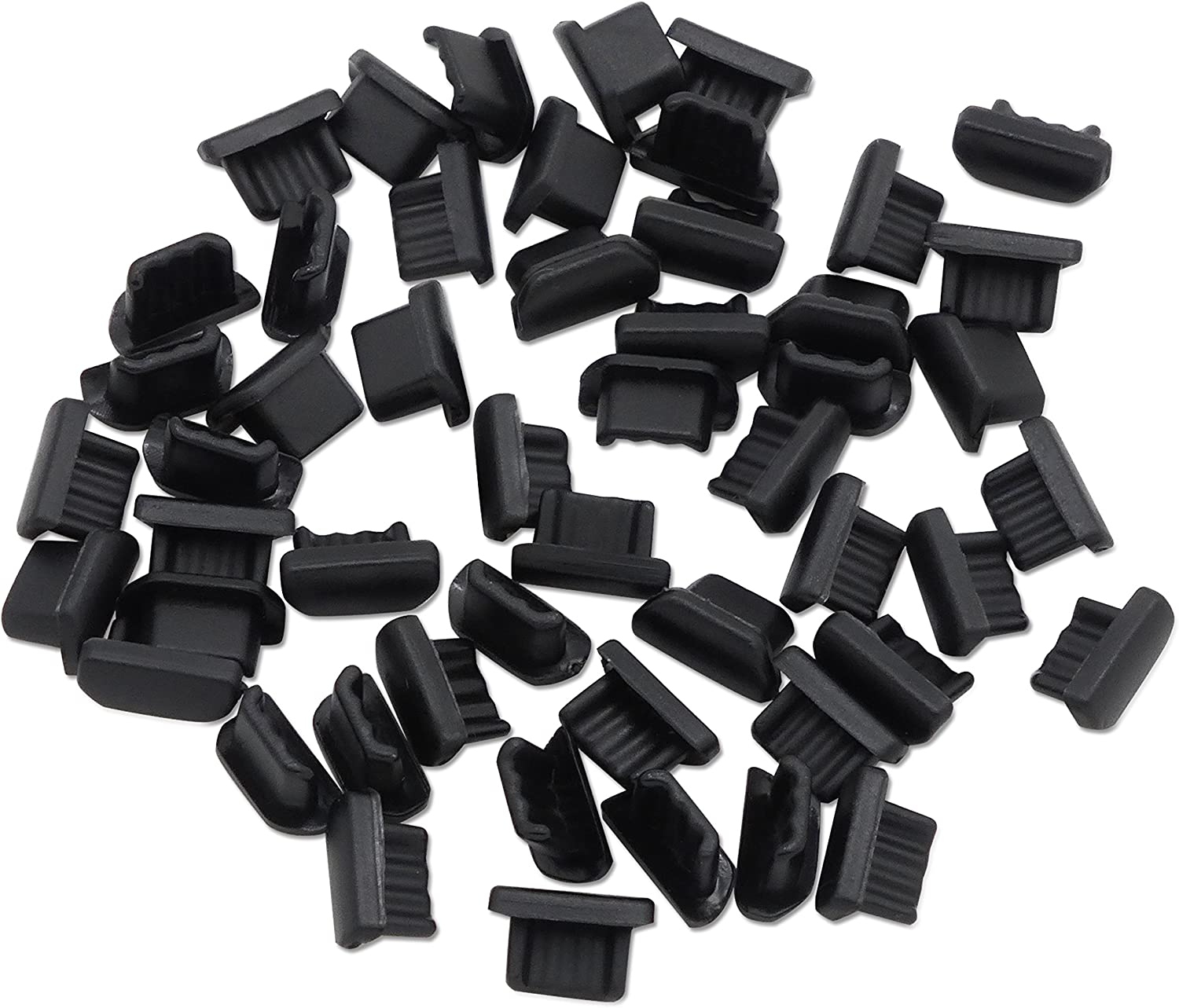 PortPlugs Micro USB Anti Dust with 50-Pack Free Award Shipping New Al Compatible Plugs
