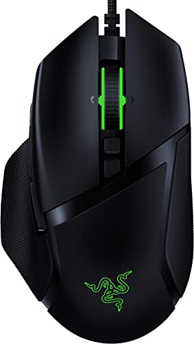 Razer Basilisk v2 Wired Gaming Mouse: 20K DPI Optical Sensor, Fastest Gaming Mouse Switch, Chroma RGB Lighting, 11 Pr...