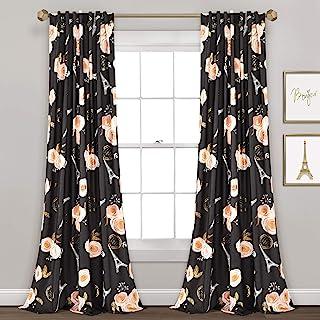 Amazon Com Paris Window Curtains