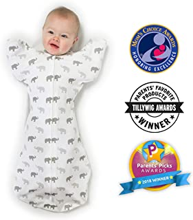 baby swaddle arms up