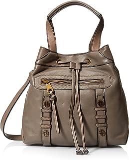 Joelle Hawkens Women's Ursula Convertible Bucket Bag, Cement