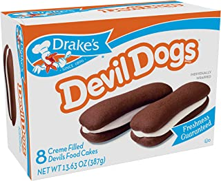 Drake's Devil Dogs, 13.63 oz, 8 Count