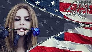 Lana Del Rey Poster Family Silk Wall Prints 43 inch x 24 inch / 24 inch x 13 inch