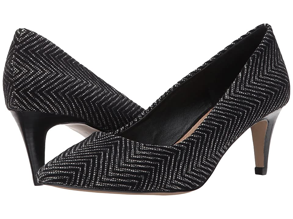 Tahari Gia (Black Chevron Velvet) Women