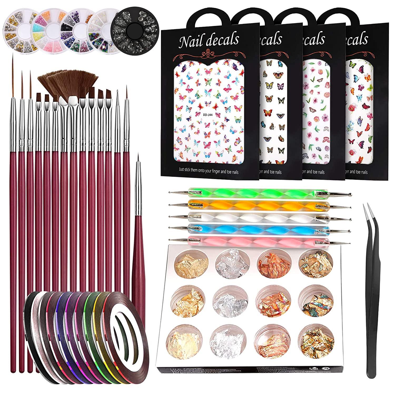 Nail Art Set Sale SALE% OFF 15 Pcs 5% OFF Brush Na Pen Designer with Kit