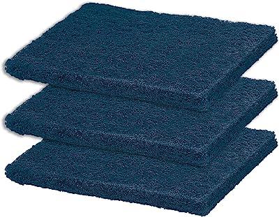 Spotzero by Milton Plastic Antibacteria Power Scrub, Pack of 3, Blue