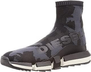 Diesel Men's H-padola High Sock-Sneaker Mid