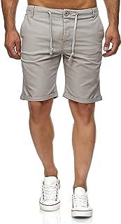 F Plus R Herren-Shorts aus Kunstleder