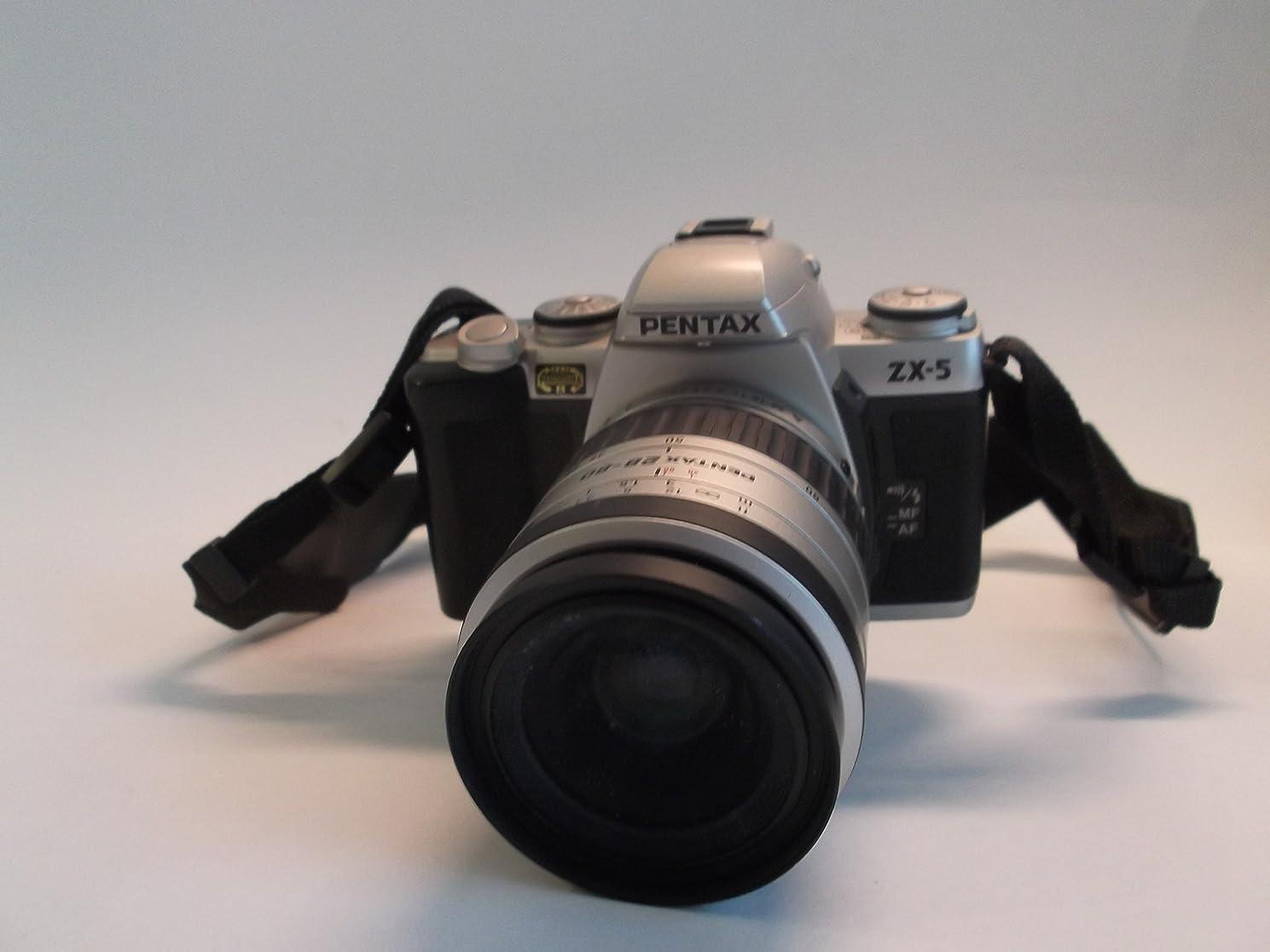 Pentax ZX-5 35MM SLR film camera with AF Zoom lens