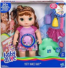 Potty Dance Baby Exclusive (Red Curly Hair)