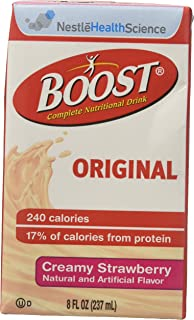 Boost Plus, Creamy Strawberry, 8 fl Ounce Cartons [Case of 27]
